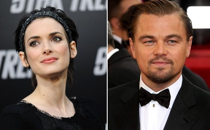 Голливудские актеры Вайнона Райдер и Леонардо Ди Каприо.