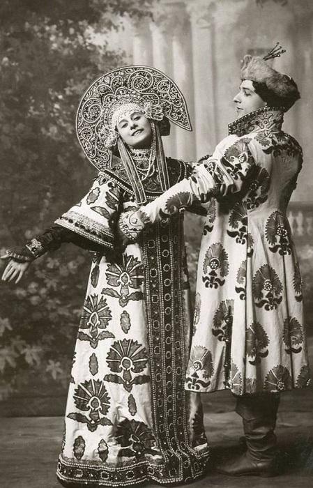 Анна Павлова и Михаил Мордкин. | Фото: diletant.media.