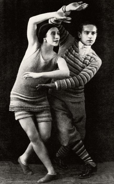 Популярные танцоры начала ХХ века Лидия Соколова и Леон Вуйциковский. | Фото: diletant.media.