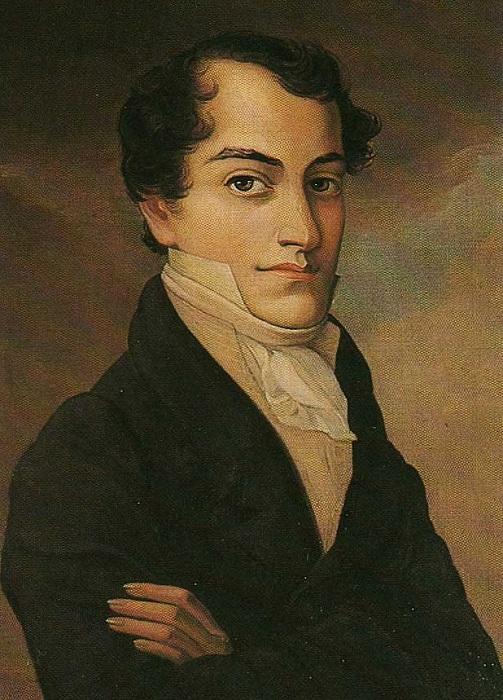 Кондратий Рылеев - русский поэт (1795-1826). | Фото: proznanie.ru.