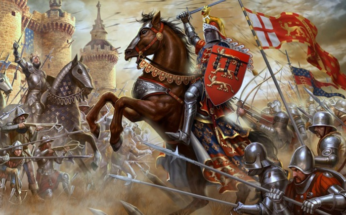 Рыцарская кавалерия. | Фото: 1zoom.ru.