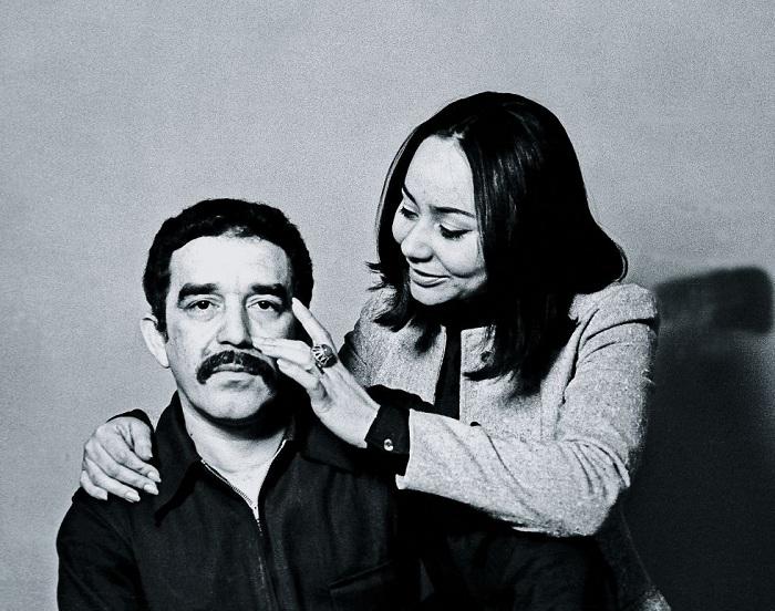 Мерседес Барча Пардо и Габриэль Гарсия Маркес.