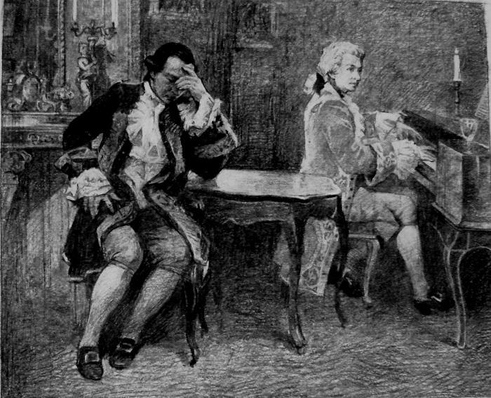 Сальери и Моцарт действительно были соперниками. | Фото: sterzhen.com.