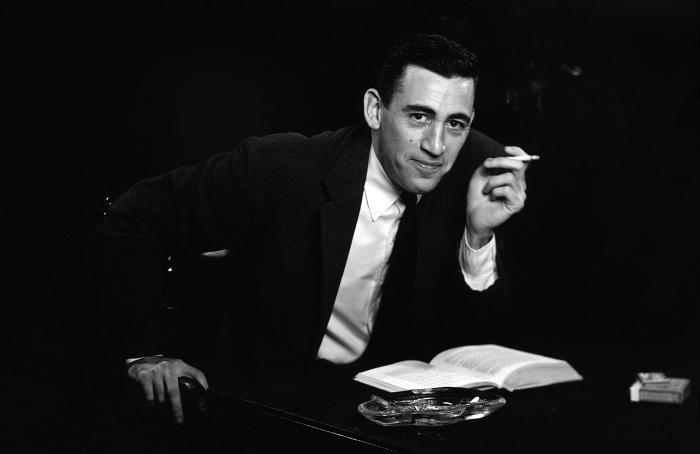 Американский писатель Джером Сэлинджер (Jerome Salinger).   Фото: kued.org.