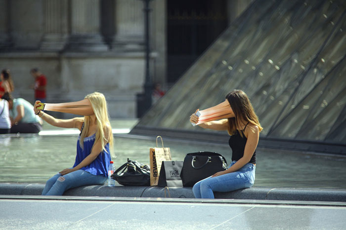 Сюрреалистический проект французского фотографа Antoine Geiger.