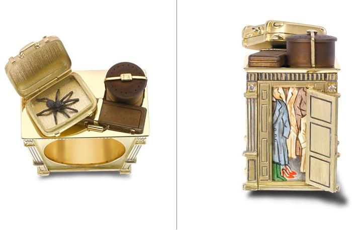 Кольцо в виде шкафа из «Хроник Нарнии».