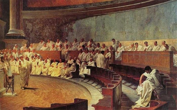 В Древнем Риме только сенат мог позволить человеку совершить самоубийство. | Фото: d262ilb51hltx0.cloudfront.net.