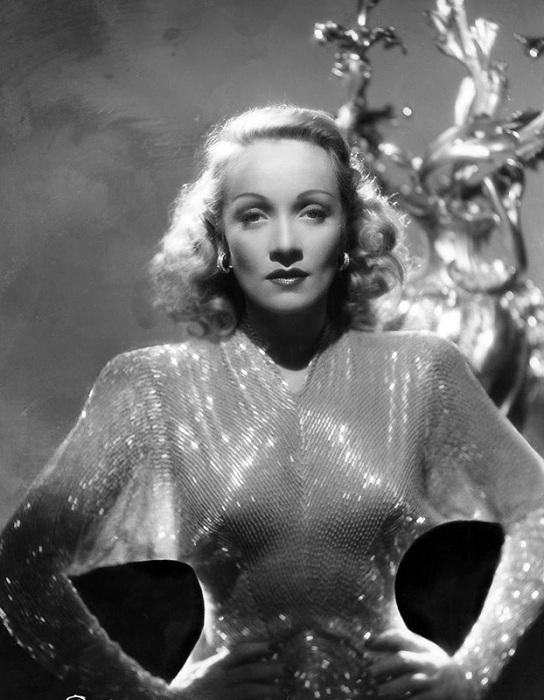 Актриса Marlene Dietrich.