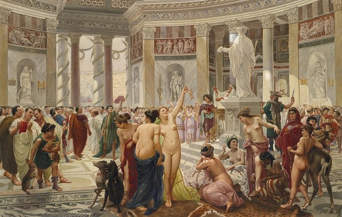 Фото древний рим секс