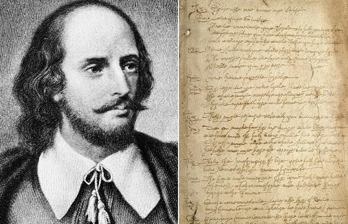 Уильям Шекспир и подделка его рукописи.