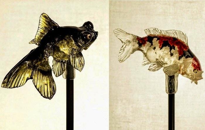 Леденцы на палочке «Золотые рыбки».