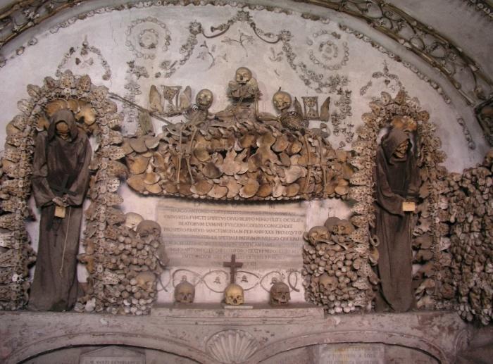 Костехранилище в  церкви Санта-Мария-делла-Кончеционе. | Фото: cdn.destinationtips.com