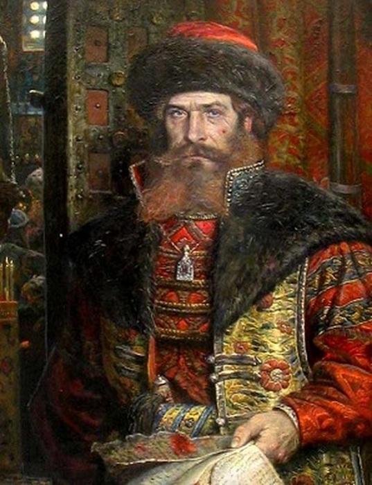 Царский Указ. Малюта Скуратов. П. Рыженко, 2006 год. | Фото: f4.mylove.ru.