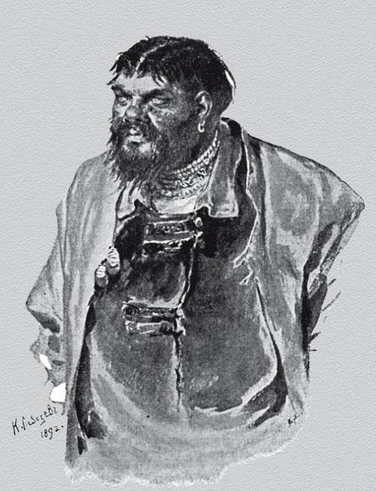 Малюта Скуратов. К. В. Лебедев, 1892 год. | Фото: pipec.ru.