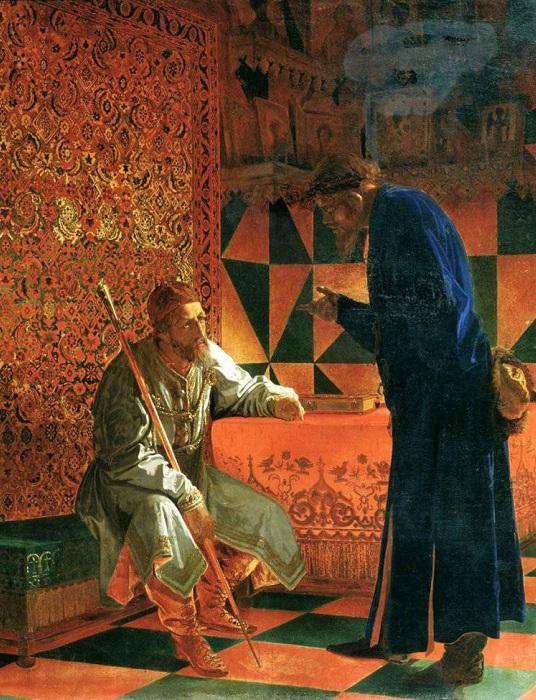 Иван Грозный и Малюта Скуратов. Г. С. Седов, 1871 год. | Фото: topwar.ru.