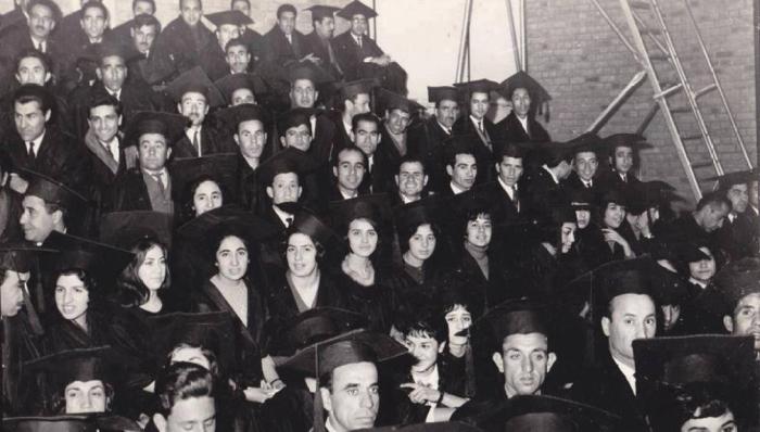 Активное обучение молодежи в вузах в Афганистане 60-х годов 20-века.