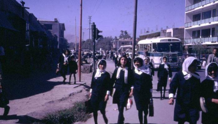 Афганистан 60-х - смешение Востока и Запада.