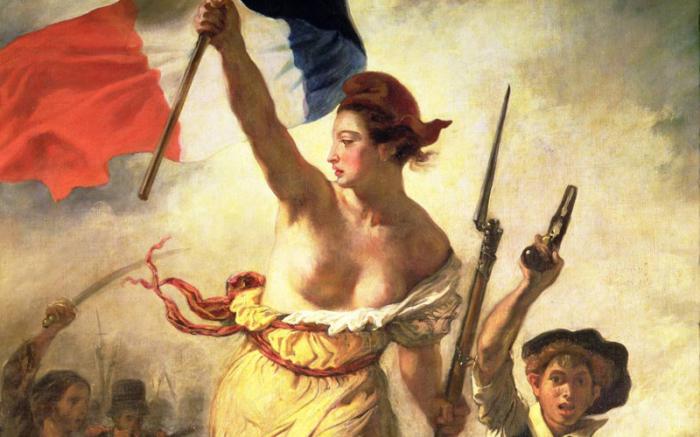 Во времена Французской революции идея свободы коснулась и женского гардероба.