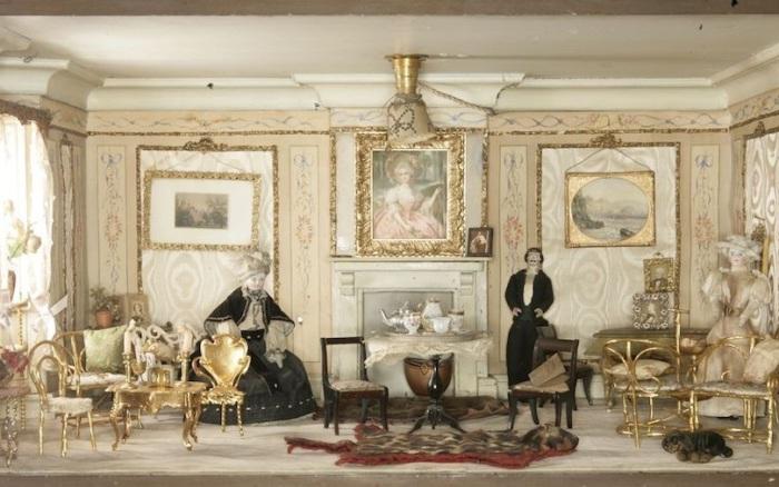 Кукольный дом 1890: Amy Miles House.