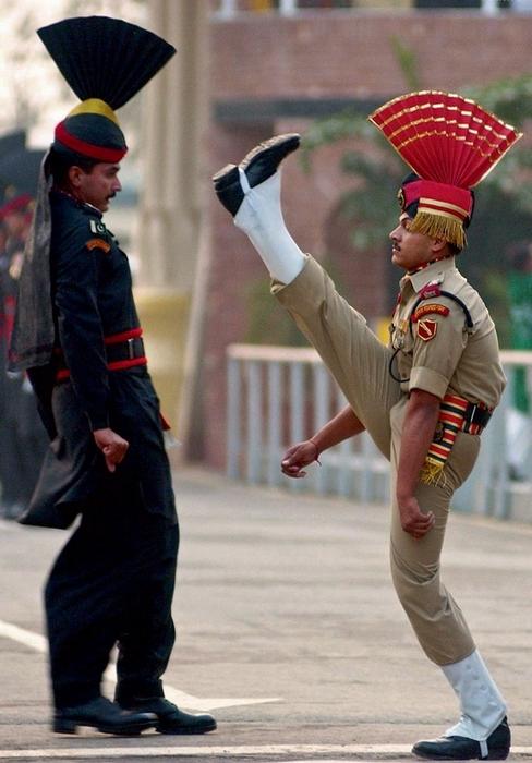 Форма военных в Пакистане.