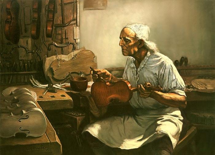 Антонио Страдивари - итальянский создатель музыкальных инструментов. | Фото: set-info.ru.