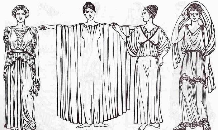 В Древней Греции грудь приподнимали лентами-строфионами. | Фото: lenta.co.