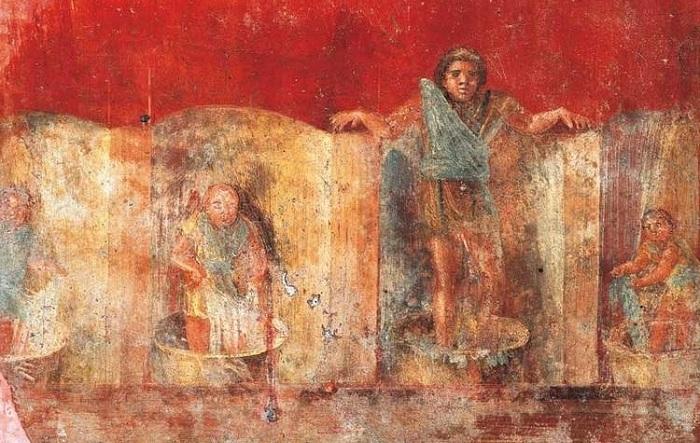 В Древнем Риме сукновалам приходилось стоять в моче. | Фото: morefactov.ru.