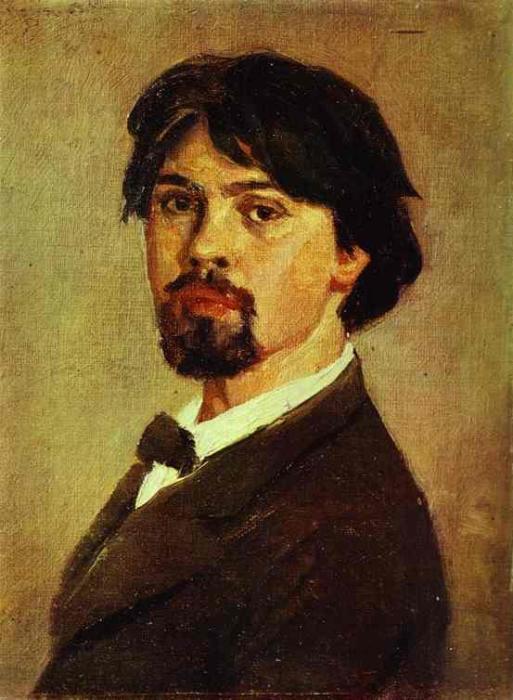 Автопортрет. В. И. Суриков, 1879 год.   Фото: azlib.ru.