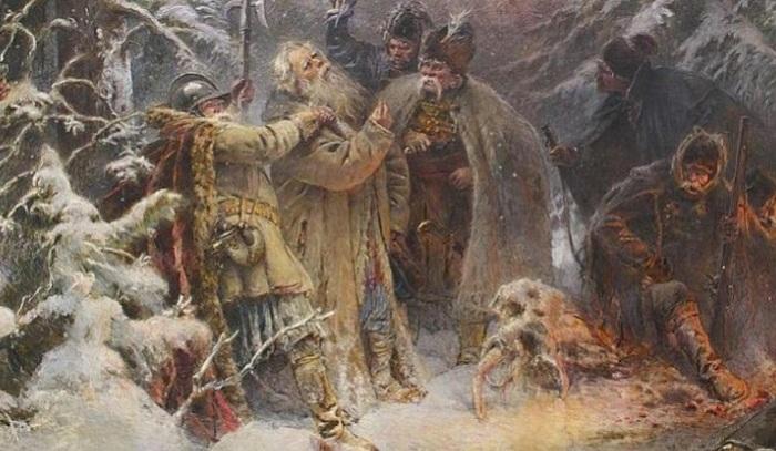 Иван Сусанин. К. Е. Маковский, 1914 год. | Фото: weekend.rambler.ru.