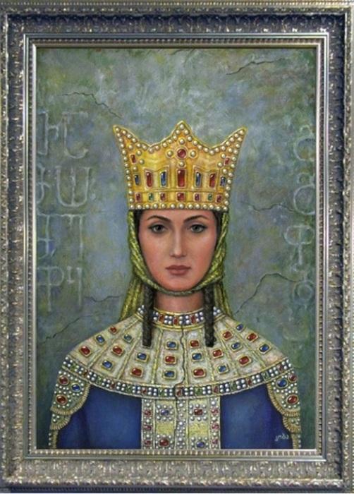 Грузинская царица Тамара. | Фото: storyfiles.blogspot.com.