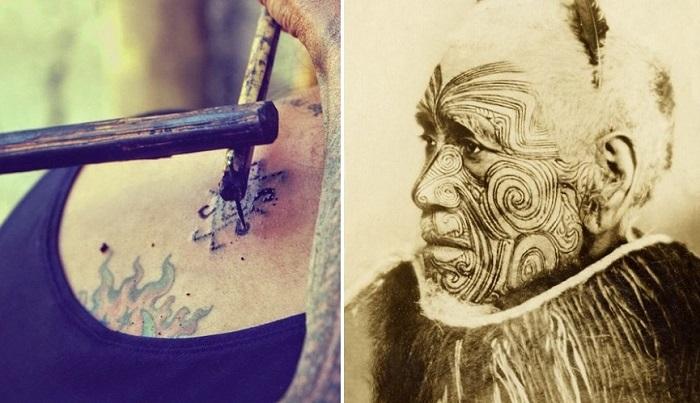 Исторические факты о татуировке.