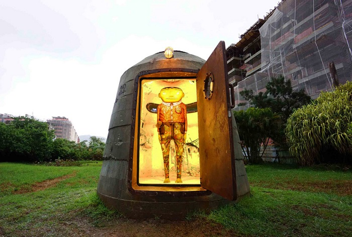 «The bunker» - инсталляция от бразильского арт-дуэта.