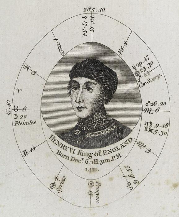 Гороскоп Генриха VI. | Фото: ranker.com.