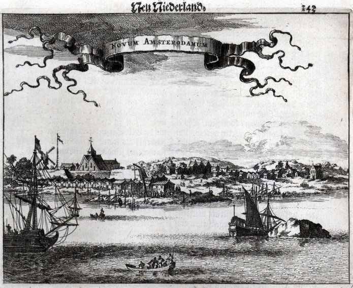 Первоначально Нью-Йорк назвался Новым Амстердамом. | Фото: mixstuff.ru.