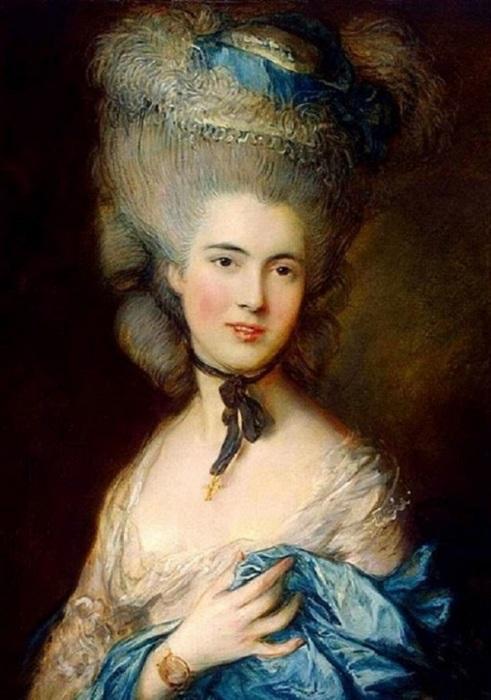 Дама в голубом. Т. Гейнсборо, ок. 1770-х. | Фото: colors.life.