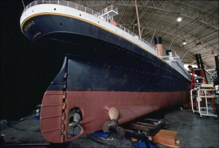 Макет «Титаника». | Фото: interesnoznat.com.