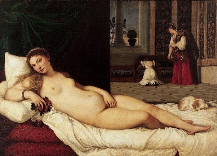 Венера Урбинская. Тициан, 1538 год. | Фото: arts-dnevnik.ru.