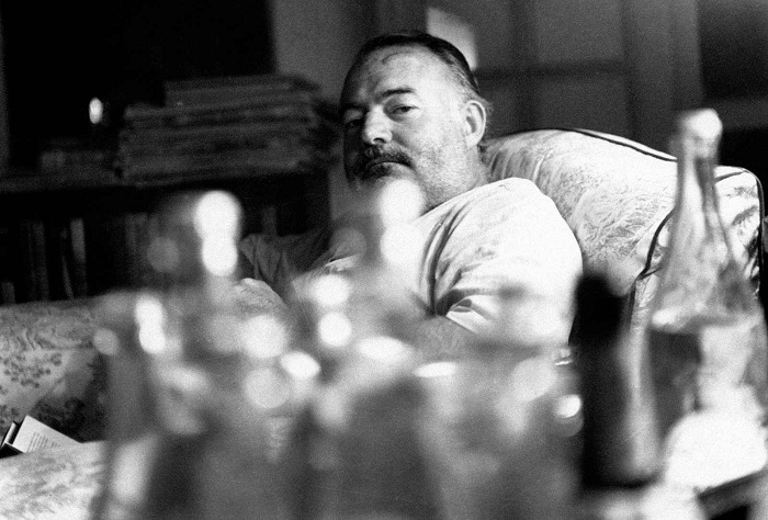 Алкогольные пристрастия Эрнеста Хемингуэя.