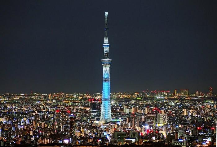 Tokyo Skytree - телевизионная башня высотой 634 метра.   Фото: cheapticketssg.files.wordpress.com.