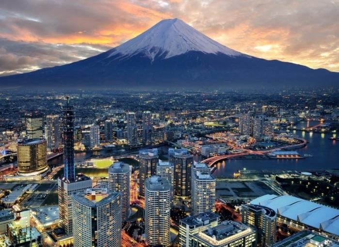 Современный Токио. | Фото: stenagrafika.ru.