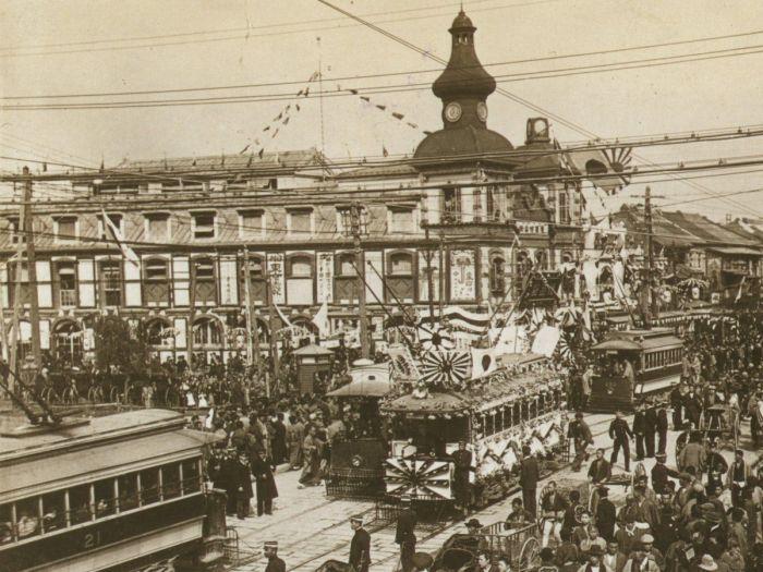Так выглядел Токио в начале ХХ века. | Фото: jeodot.com.