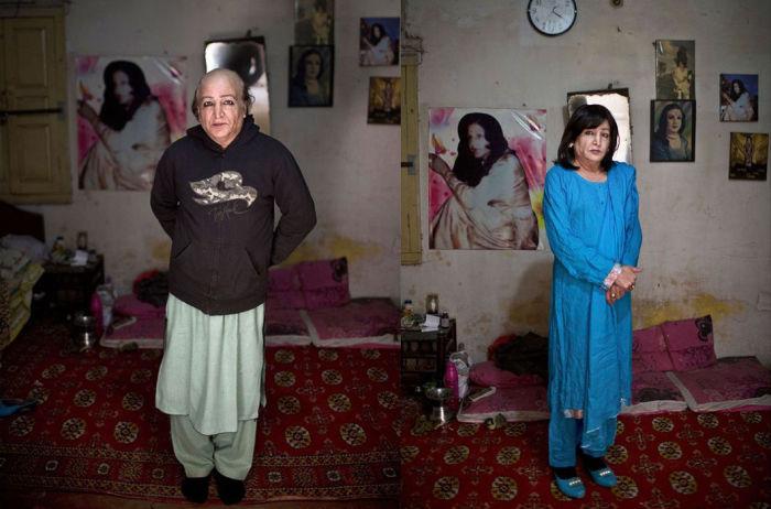 Представитель «третьего пола» днем мужчина, а вечером женщина. | Фото: moya-planeta.ru.