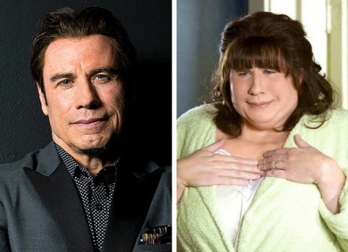Актер Джон Траволта (John Travolta) в роли  мамы Трэйси в к/ф «Лак для волос» (2007). | Фото: img.clipd.com.