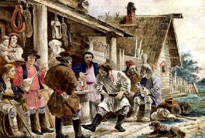 Проблема пьянства. | Фото: history-ru.livejournal.com.