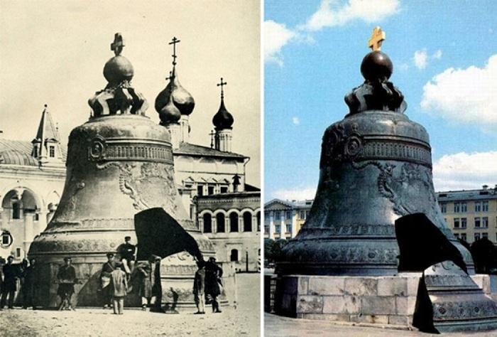 Царь-колокол - изделие весом в 202 тонны. | Фото: syzrantoday.ru.