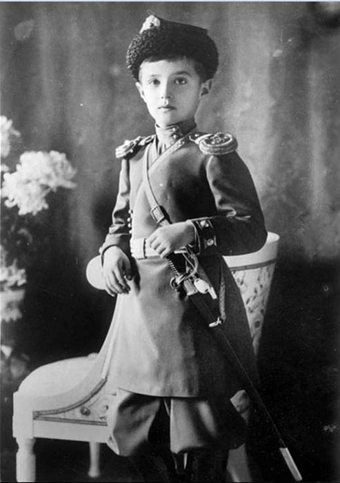 Цесаревич Алексей, ок. 1912 г. | Фото: 3rm.info.