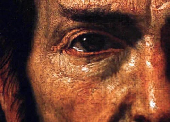 Картина, написанная в стиле Караваджо. | Фото: wtfarthistory.com.
