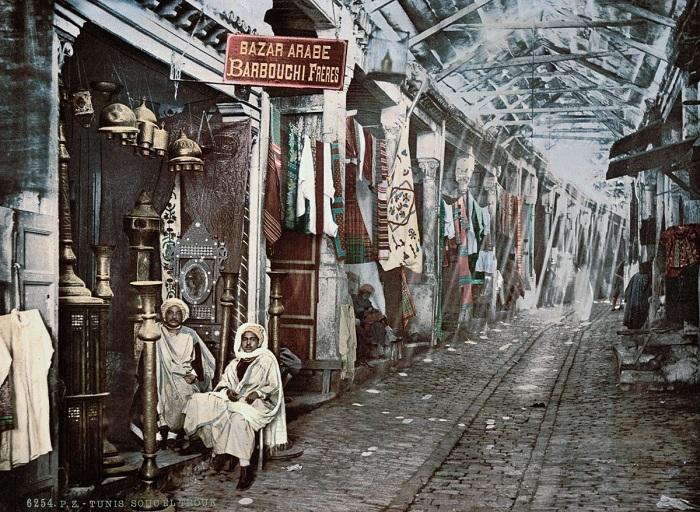 Сук-эль-Трук - базар в городе Тунис.