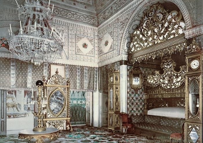 Спальня покойного бея Туниса, Каср-эль-Саид, Тунис.