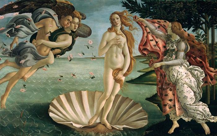Рождение Венеры. Сандро Ботичелли, 1482—1486 гг. | Фото: wm-painting.ru.